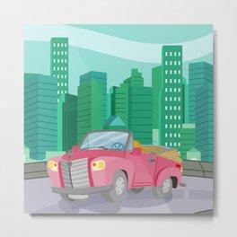 CAR (GROUND VEHICLES) Metal Print