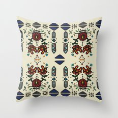 Tribal 2 Throw Pillow