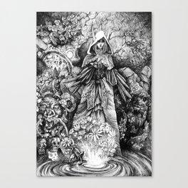 Nightmare Garden Canvas Print
