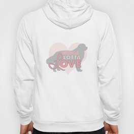 Whole Lotta Love for Newfies Hoody