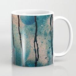 Blue spheres and tears III Coffee Mug