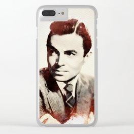 James Mason Clear iPhone Case