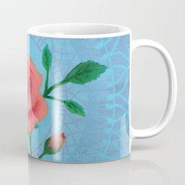 Rose Design Painting Coffee Mug