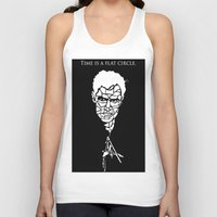 true detective Tank Tops featuring True Detective by Grownup Kids