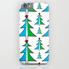Christmas Tree Pattern iPhone 6s Slim Case