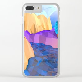 Happy Nature Clear iPhone Case