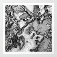 Ice and Mud Art Print