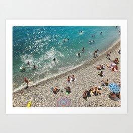 Nice: 001 Art Print