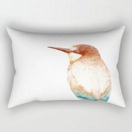 European bee-eater (Merops apiaster) - color Rectangular Pillow