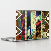 coyote Laptop & iPad Skins featuring Coyote Ugly by Lynsey Ledray