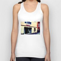 cinema Tank Tops featuring Cinema Roma by Red Bicycle - Amber Elen-Forbat