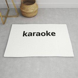 karaoke Rug