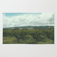 Vineyards, South of France Rug