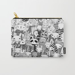 Animals in stripes Carry-All Pouch