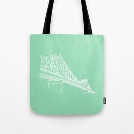 Montreal - Pont Jacques-C - White Tote Bag