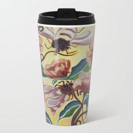 Floral-Musings-3 Metal Travel Mug