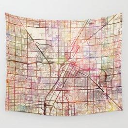Las Vegas map 2 Wall Tapestry