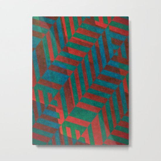 Krafted Metal Print