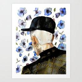 floral no. 1 Art Print