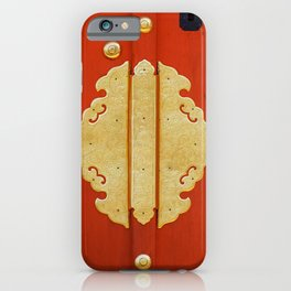 Golden entrance iPhone Case