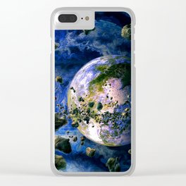 Global Attack Clear iPhone Case