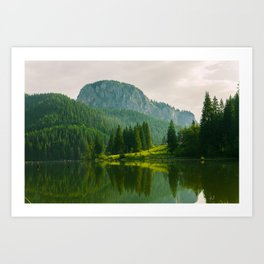 Red Lake, Romania Art Print