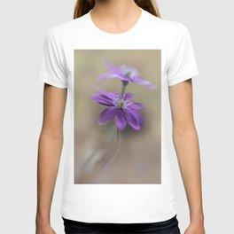 Pretty blooming Hepatica T-shirt