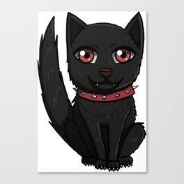 Cute Horde Wolf Canvas Print