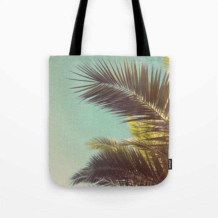 Autumn Palms Tote Bag