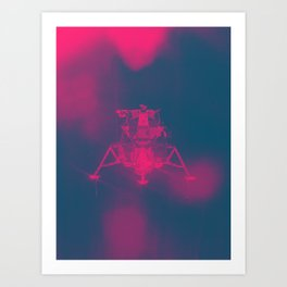 Lunar Haze Art Print
