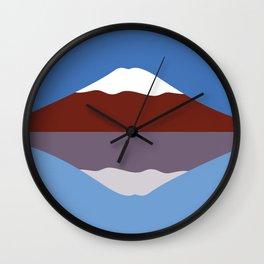 #23 Mt Fuji Wall Clock
