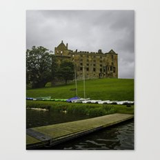 Linlithgow Palace and Peel Canvas Print