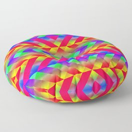 Rainbow Floor Pillow
