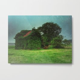 house with ghosts  Metal Print