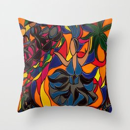 Tucan Con Alma Throw Pillow