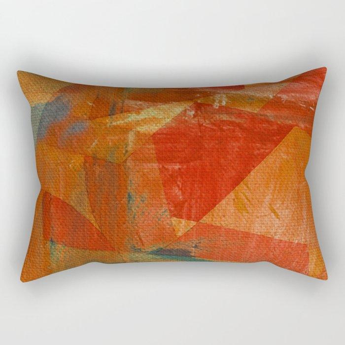 Heavy River Rectangular Pillow