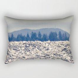 Nahcotta Oysters, Seashells, Landscape, Washington, Northwest Rectangular Pillow