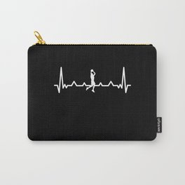 Funny Bball Basketball | Heartbeat Gift Carry-All Pouch