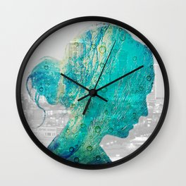Vacation on my Mind Wall Clock