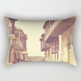 Summer Love Alone (vintage urban photography) Rectangular Pillow