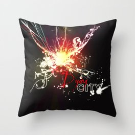 Dying City Throw Pillow