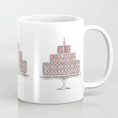 Patterned Cake Mug