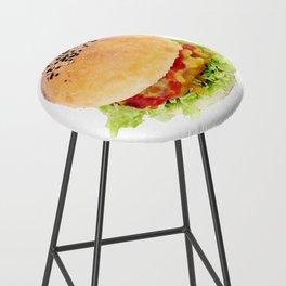 Hamburger Bar Stool