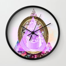 Mirror mirror on the wall who's the fairest of them all Wall Clock
