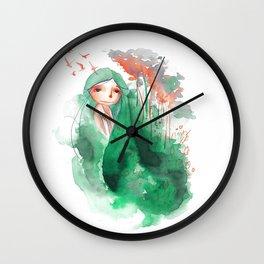 I AM A WET FOREST Wall Clock