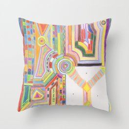 Alchemy 6 Throw Pillow