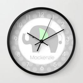 Mod Elephant Mackenzie Wall Clock
