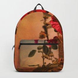 Mid-Summer Hollyhocks Backpack