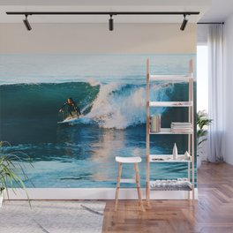 Warm Surf Wall Mural
