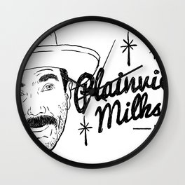 Plainview's Milkshakes Wall Clock